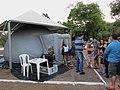 Planetário Móvel no 1º EPA - Encontro Paulista de Astronomia, realizado em Bebedouro. O histórico evento foi realizado na Região dos Lagos na Praça da Santa (Praça Paula Frassinetti). Mais de 4000 - panoramio.jpg