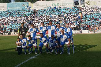 CE Sabadell FC - Sabadell before game against Eibar (2010)