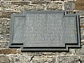 Plaque on St Michaels Chapel on Burrow Mump (geograph 2834284).jpg