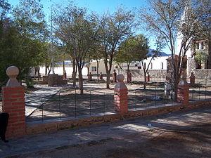 Abdón Castro Tolay - Image: Plaza Central de Barrancas
