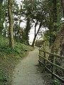 Poets Walk looking towards the gazebo - geograph.org.uk - 1075401.jpg
