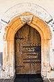 Poggersdorf St. Michael ob der Gurk Pfarrkirche hl. Michael got. Kielbogenportal 11012019 5959.jpg
