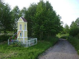 Rumunki Głodowskie Village in Kuyavian-Pomeranian, Poland