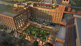 BeltLine - Ponce City Market multi-use complex, formerly the Sears, Roebuck warehouse for the southeastern U.S.
