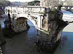 File:Pons Aemilius, the oldest Roman bridge in Rome, Field of Mars (Campus Martius) (9101307680).jpg