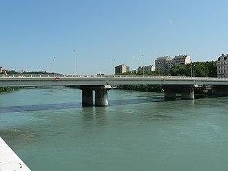 Bridges of Lyon -  Pont de Lattre de Tassagny in 2008