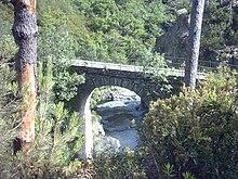 Ponte Negrone sulle alture di Arenzano