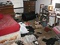 Poo poo house- New Orleans Bedroom after Katrina 01.jpg