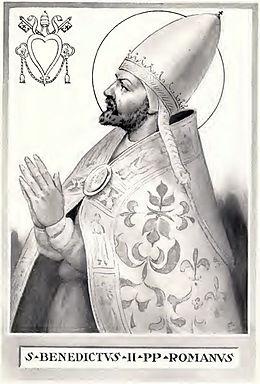 Resultado de imagen para Benedictus II (684-685)