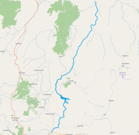 Porce river location map in Antioquia openstreetmaps.png