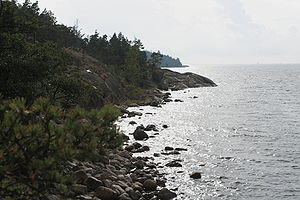 Porkkalanniemi - Porkkalanniemi has a rocky coastline