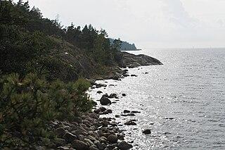 Porkkalanniemi peninsula in Kirkkonummi, Finland