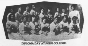 Annie Malone - Image: Poro College Diploma