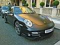 Porsche Porsche Turbo Matte black (6222736101).jpg