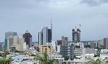 Vista di Port Louis