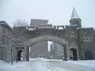 Ramparts of Quebec City - Image: Porte St. Jean