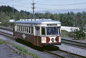 English: Ex-Portland Traction Company car 813,...
