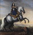 Porträtt av ryttare, kungaporträtt, olja på duk - Skoklosters slott - 30793.tif