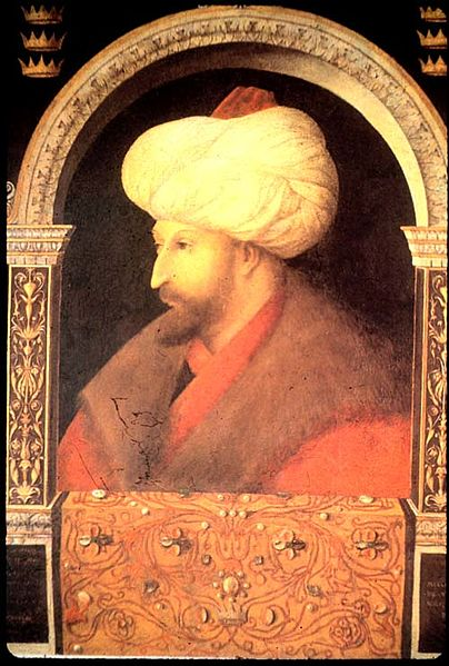 File:Portrait of Sultan Mehmed II by Gentile Bellini - Fatih.jpg
