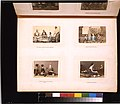Portraits of Japanese guards, a woman washing herself, a prisoner with a police examiner, and a woman playing a shamisen LCCN2011649889.jpg