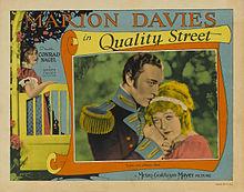 Afiŝo - Quality Street (1927) 01.jpg