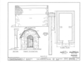 Powder House, Center Street, Fairfield, Fairfield County, CT HABS CONN,1-FAIRF,3- (sheet 1 of 1).png