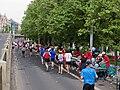 Pražský maraton, Nábřežní, občerstvovací stanice.jpg