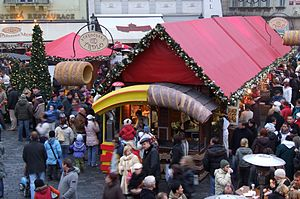 English: Christmas Markets in Prague