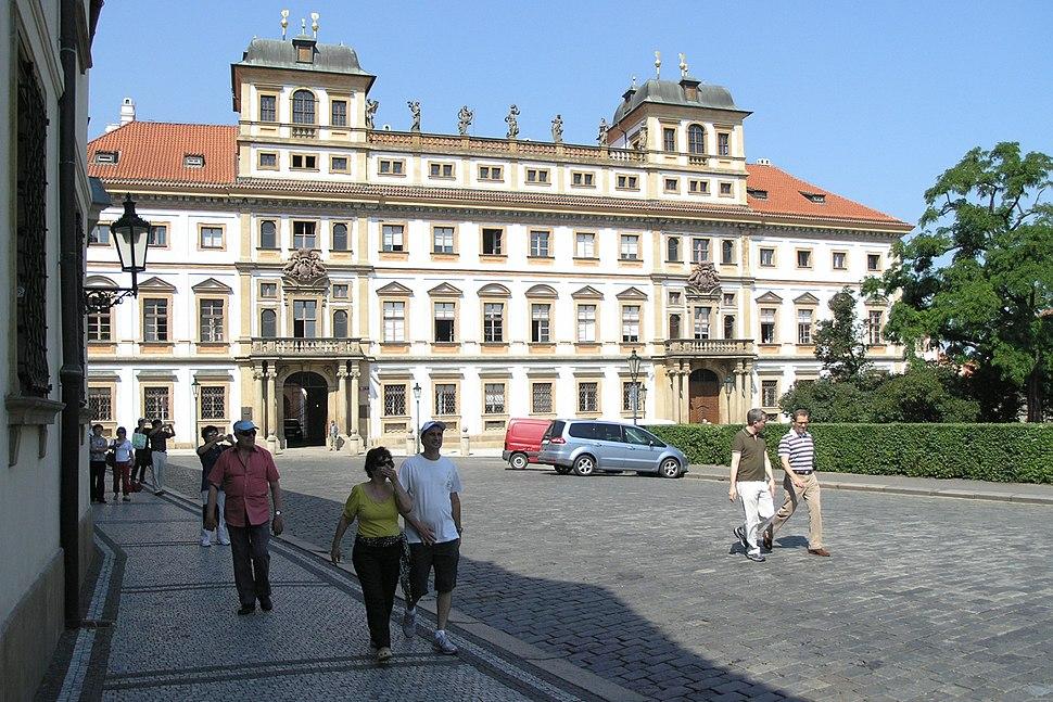 Praha, Hradčanské náměstí - Toskánský palác