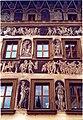 Praha - Old Town Square - Staroměstské náměstí - View WSW on City Hall Sgrafitto - Renaissance.jpg