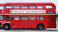 Preserved Routemaster bus RM1000 (100 BXL), 2010 North Weald bus rally (2).jpg