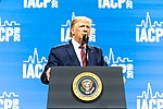 President Trump Delivers Remarks at the IACP (48974998508).jpg