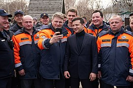 President of Ukraine meets evacuated people from Wuhan 8.jpg