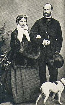 Prince Alexander of Hesse and by Rhine and Countess Julia Hauke.jpg