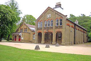 library in Aldershot, England