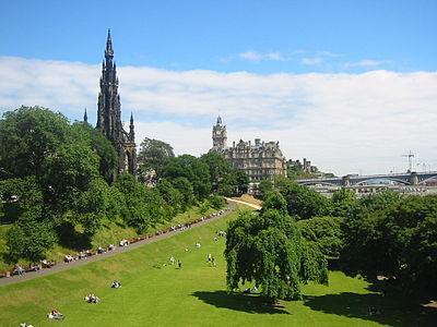Princes Street Gardens - Wikipedia