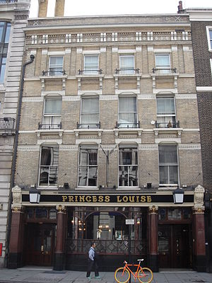 High Holborn - Princess Louise public house, High Holborn