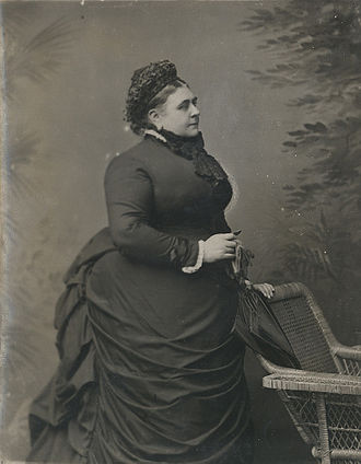 Princess Mary Adelaide of Cambridge - Mary Adelaide in c.1880