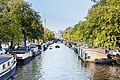 Prinsengracht towads Lekkeresluis from Bridge Prinsenstraat 2016-09-12.jpg