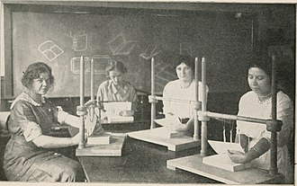 Case (goods) - Illustration from Printing and Bookbinding for Schools (1914
