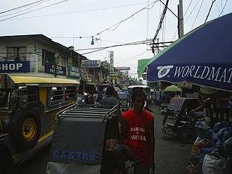 Tondo, Manila - Busy street near Pritil Market