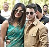 Priyanka Chopra and Nick Jonas in 2018.jpg