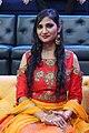 Priyanka Singh at Sa Re Ga Ma Pa Rang Purvaiya Set.jpg