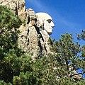 Profile of George Washington on Mount Rushmore.jpg