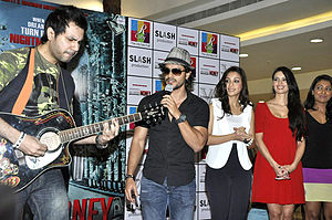 R City Mall - Promotions of Bollywood film Blood Money at R City Mall