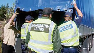Law enforcement in Finland - Police, Customs and Border Guard have close inter-agency cooperation.