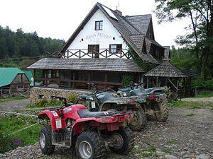 Bieszczady County - Image: Przysłup bar
