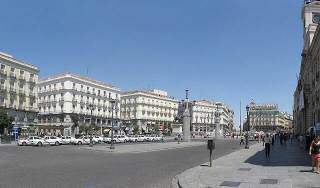 Puerta del sol lugar de inter s en madrid espa a gu a de for Puerta del sol madrid mapa