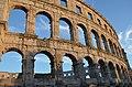 Pula Arena, Roman Amphitheatre, Colonia Pietas Iulia Pola Pollentia Herculanea, Histria (10384206526).jpg