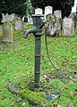 Pump in Birling churchyard - geograph.org.uk - 111611.jpg